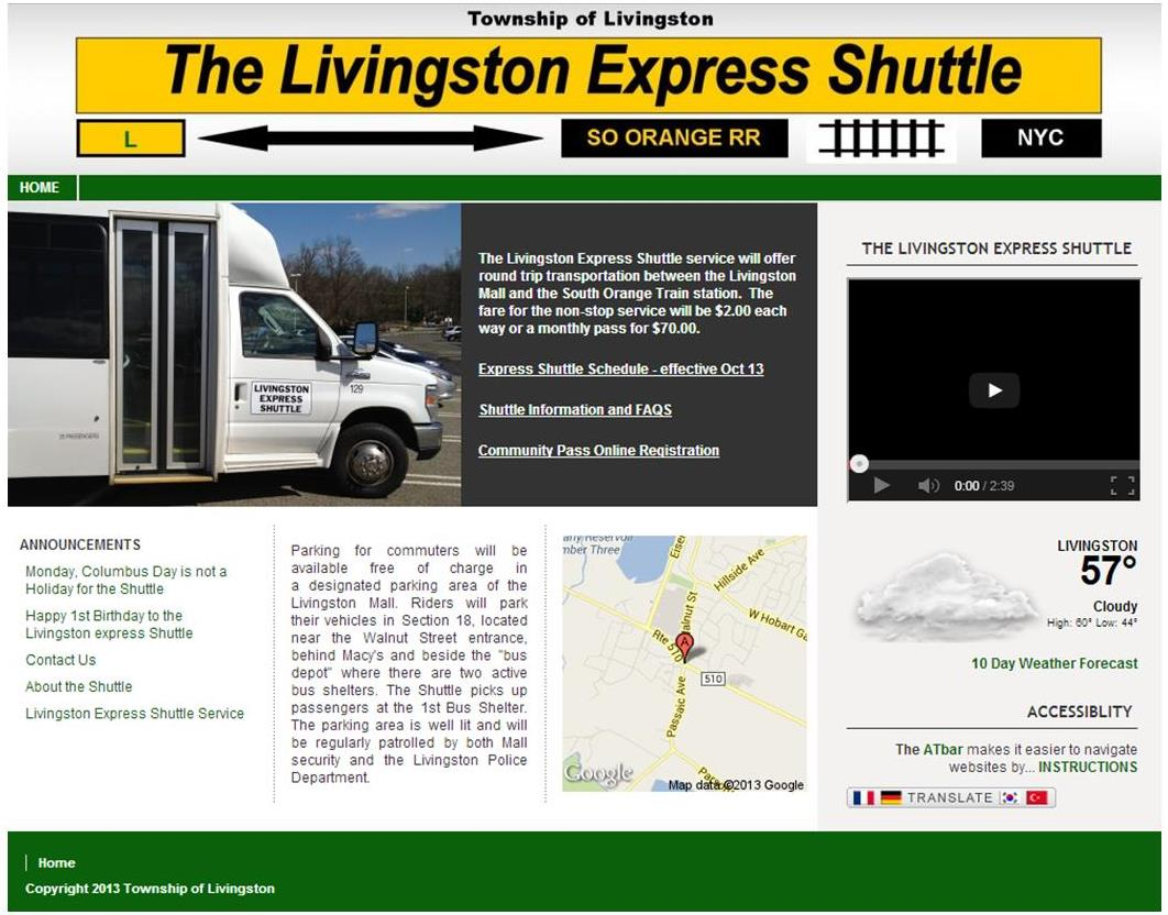 Livingston Shuttle