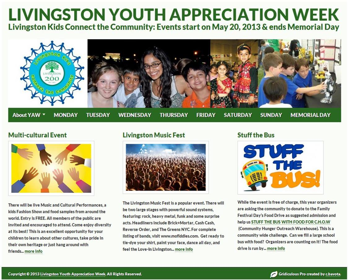 Livingston Youth Appreciation Week